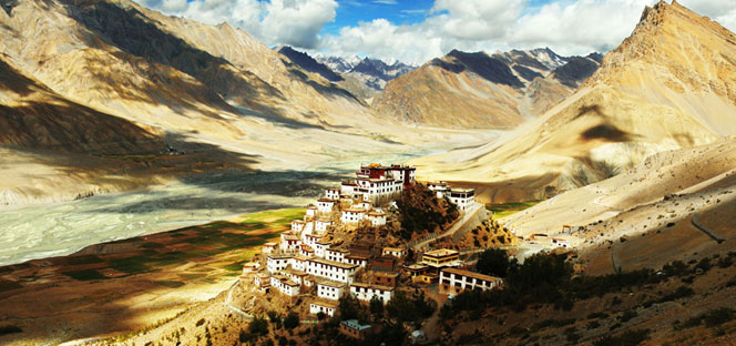 Ki Gompa (Ki Monastery) - Photo and caption by Natalia Luzuriaga